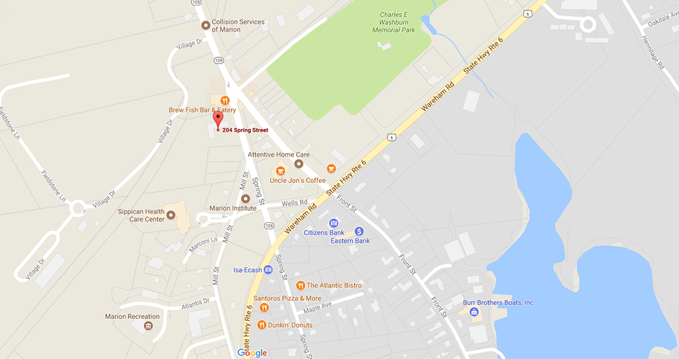 Directions To 204 Spring Street, Marion, MA